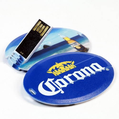 USB Card - Oval